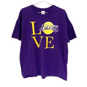 🔥LA Lakers LOVE Pop Art Shirt XL Robert Indiana